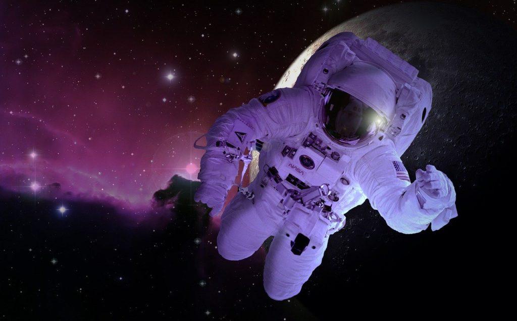 voyage dans l'espace